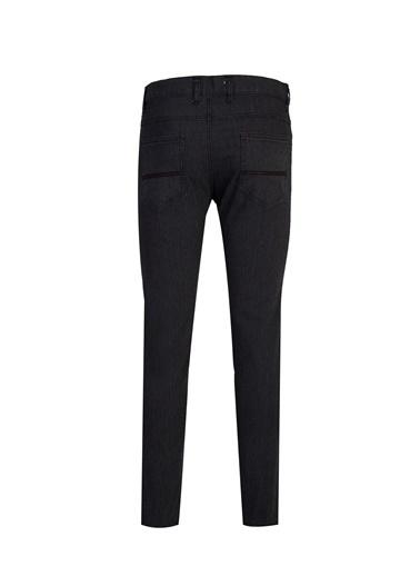 Kiğılı Jean Pantolon Siyah